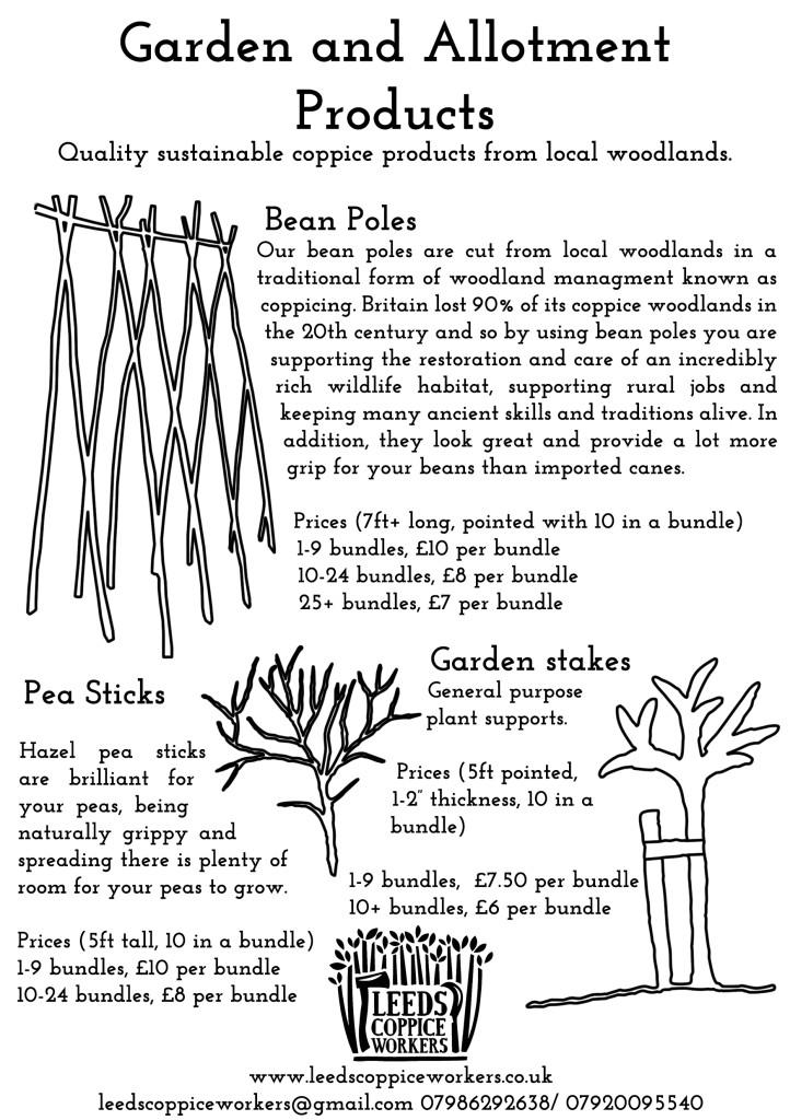 Bean poles flyer 2016